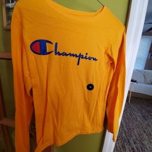 Champion long sleeve medium tee